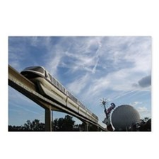 Monorail Postcards (Package of 8)