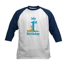First Birthday Giraffe Tee