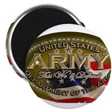 army Oval Magnets