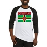Dominica Flag Baseball Jersey