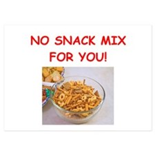 snack mix Invitations