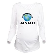World's Greatest Jan Long Sleeve Maternity T-Shirt