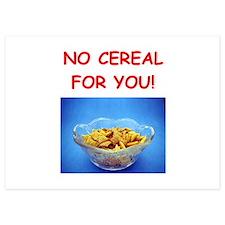 cereal Invitations