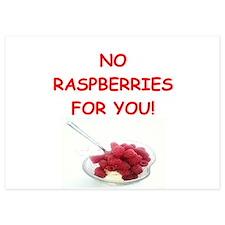 raspberries Invitations
