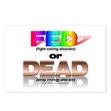 FED or DEAD Postcards (Package of 8)