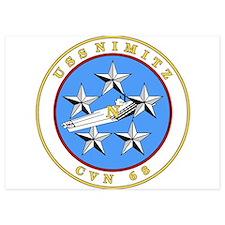 US Navy USS Nimitz CVN 68 Invitations