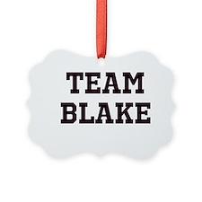 Team Name Ornament