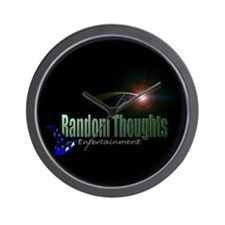 Random Thoughts Wall Clock