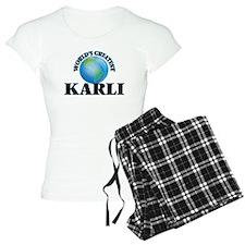World's Greatest Karli Pajamas