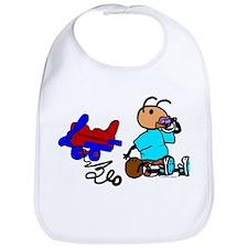 Unique Infant plane Bib