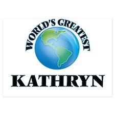 World's Greatest Kathryn Invitations