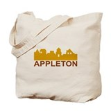 Appleton Wisconsin skyline Tote Bag
