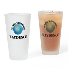 World's Greatest Kaydence Drinking Glass