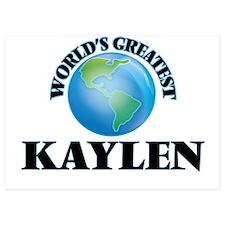 World's Greatest Kaylen Invitations