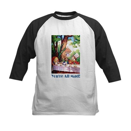YOU'RE ALL MAD Kids Baseball Jersey