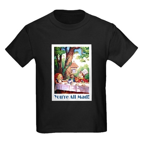 YOU'RE ALL MAD Kids Dark T-Shirt