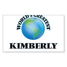 World's Greatest Kimberly Decal