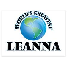 World's Greatest Leanna Invitations
