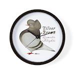 Brown Bar Cap Flight Wall Clock