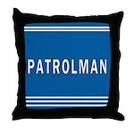 Patrolman Blues Throw Pillow
