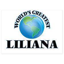 World's Greatest Liliana Invitations