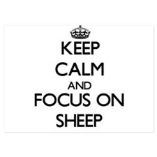 Keep Calm and focus on Sheep Invitations