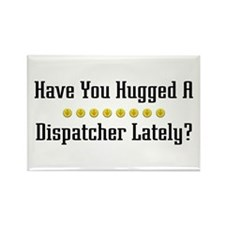 Hugged Dispatcher Rectangle Magnet