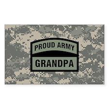 Proud Army Grandpa Camo Decal