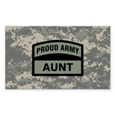Proud Army Aunt Camo Decal