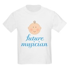 Cute Future Musician Kids Light T-Shirt