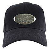 Ansonia 1921 map Baseball Cap