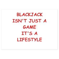 BLACKJACK Invitations