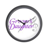 Groom's Daughter(clef) Wall Clock