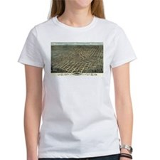 Atlanta antique map 1871 Tee