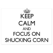Keep Calm and focus on Shucking Corn Invitations
