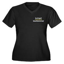 Hugged Database Administrator Women's Plus Size V-