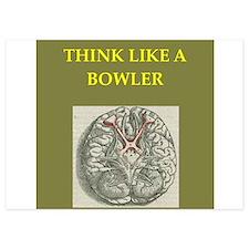 bowler 5x7 Flat Cards