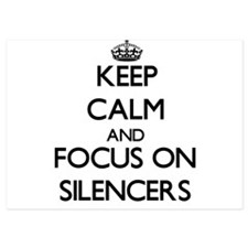 Keep Calm and focus on Silencers Invitations