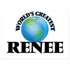 World's Greatest Renee Invitations