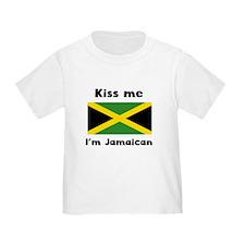 Kiss Me Im Jamaican T-Shirt