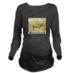 Prairie Sentinel Long Sleeve Maternity T-Shirt
