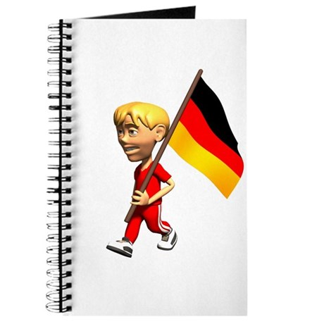 Germany Boy Journal