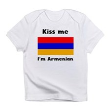 Kiss Me Im Armenian Infant T-Shirt