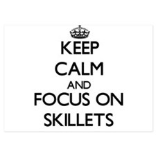 Keep Calm and focus on Skillets Invitations