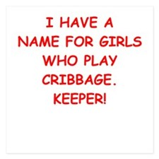 cribbage Invitations