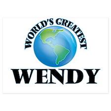World's Greatest Wendy Invitations