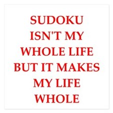 sudoku Invitations