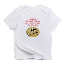 curling,curler Infant T-Shirt