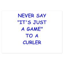 curler Invitations