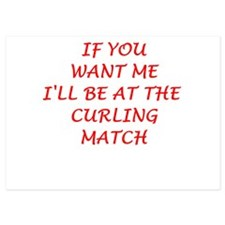 curling Invitations